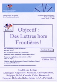 Olivier Briard - Objectif : des lettres hors frontières !.