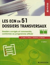 Olivier Bustarret et Xavier Cahu - Les ECN en 51 dossiers transversaux - Dossiers corrigés et commentés conformes au programme officiel, Pack 2 volumes.