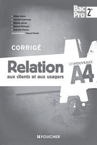 Relation aux clients et aux usagers 2e Bac Pro Commerce - Corrigé.pdf