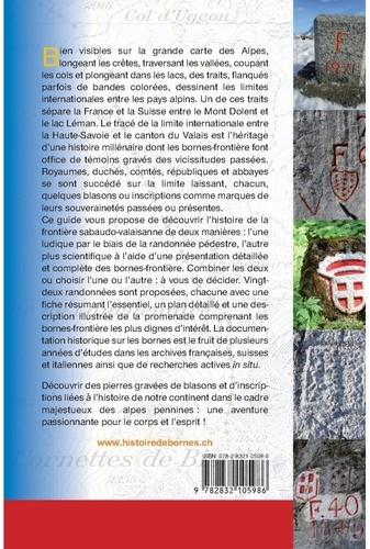 Histoire de bornes. La frontière entre le Valais et la France