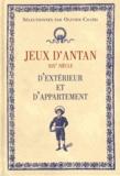 Olivier Chaïbi - Jeux d'antan d'extérieur et d'appartement.