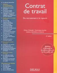 Olivier Chénedé et Dominique Jourdan - Contrat de travail - Du recrutement à la rupture.