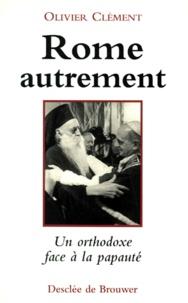 Lemememonde.fr ROME AUTREMENT. Une réflexion orthodoxe sur la papauté Image