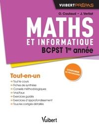 Olivier Coulaud et Jérôme Verliat - Maths et informatique BCPST 1re année.