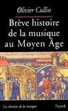 Olivier Cullin - Brève histoire de la musique au Moyen Age.