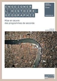 Forum de téléchargement de livre Enseigner l'histoire-géographie  - Mise en oeuvre des programmes de seconde