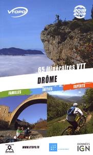 Olivier De Smet et Jean-Marc Brancart - Drôme - 65 itinéraires VTT.