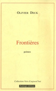 Olivier Deck - Frontières.