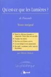 Olivier Dekens et Michel Foucault - Qu'est-ce que les Lumières ?.