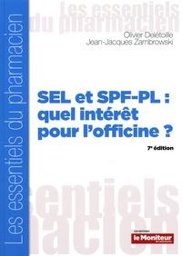 Téléchargements gratuits de livres audio français SEL et SPF-PL : quel intérêt pour l'officine ? par Olivier Delétoille, Jean-Jacques Zambrowski (Litterature Francaise) 9791090018969