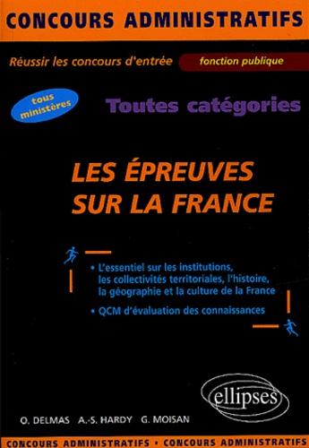 Olivier Delmas et Anne-Sophie Hardy - Les épreuves sur la France.
