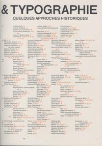 Olivier Deloignon et Alena Kubova-Gauché - Architecture & typographie - Quelques approches historiques.