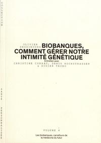 Olivier Dessibourg - Les biobanques, carrefours de la médecine du futur.