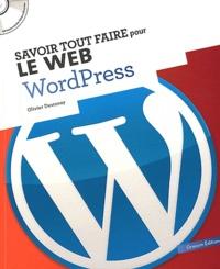 Olivier Destenay - WordPress. 1 Cédérom