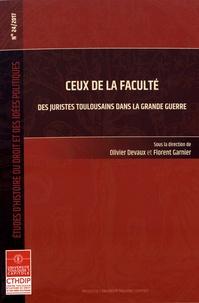 Lemememonde.fr Ceux de la faculté - Des juristes toulousains dans la Grande Guerre Image