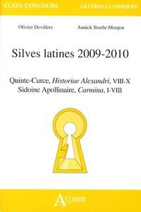 Olivier Devillers et Annick Stoehr-Monjou - Silves latines 2009-2010 - Quinte-Curce, Historiae Alexandri, VIII-X ; Sidoine Apollinaire, Carmina, I-VIII.