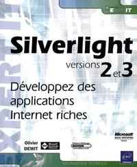 Deedr.fr Silverlight version 2 et 3 - Développez des applications Internet riches Image