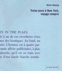 Olivier Domerg - Treize jours à New-York, voyage compris.