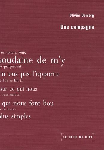 Olivier Domerg - Une campagne.