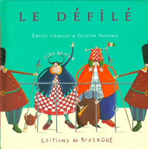 Olivier Douzou et Emilie Chollat - Le défilé.