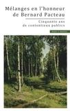 Olivier Dubos - Mélanges en l'honneur de Bernard Pacteau.