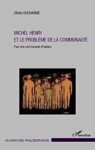 Openwetlab.it Michel Henry et le problème de la communauté - Pour une communauté d'habitus Image