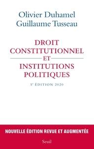 Scribd ebook téléchargez Droit constitutionnel et institutions politiques ePub MOBI FB2 9782021442007 en francais