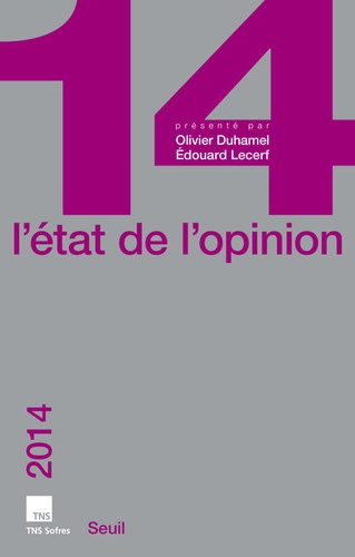 L'état de l'opinion  Edition 2014