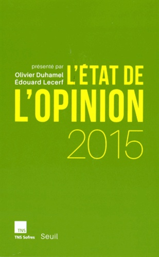L'état de l'opinion  Edition 2015