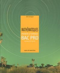 Olivier Duhappart - Mathématiques 1e et Tle Bac Pro enseignement agricole - Cours et exercices résolus.