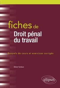 Fiches de Droit pénal du travail.pdf