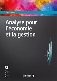 Olivier Ferrier - Analyse pour l'économie et la gestion.