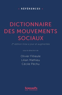 Olivier Fillieule et Lilian Mathieu - Dictionnaire des mouvements sociaux.