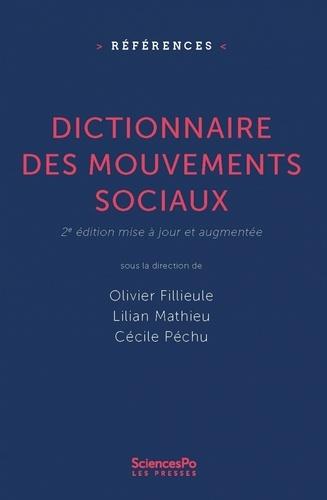 Dictionnaire des mouvements sociaux 2e édition revue et augmentée