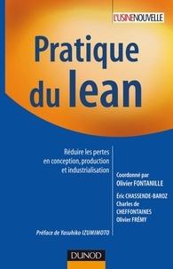 Pratique du lean- Réduire les pertes en conception, production et industrialisation - Olivier Fontanille pdf epub