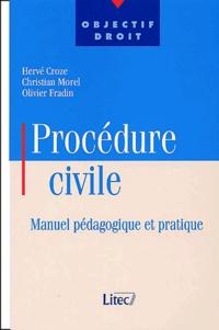 Olivier Fradin et Hervé Croze - .