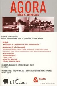 Olivier Galland - Agora Débats/Jeunesse N° 46, 4e trimestre : .