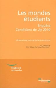 Olivier Galland et Elise Verley - Les mondes étudiants - Enquête Conditions de vie 2010.
