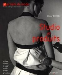 Olivier Gerval - Studio et produits.