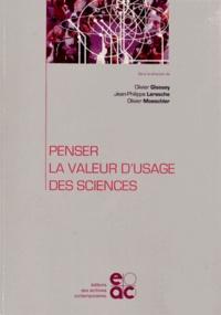 Olivier Glassey et Jean-Philippe Leresche - Penser la valeur d'usage des sciences.