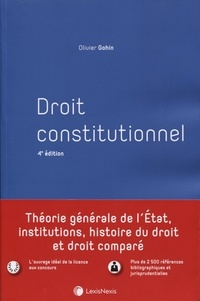 Olivier Gohin - Droit constitutionnel.
