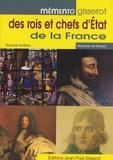 Olivier Guérin - Mémento des rois et chefs d'Etat de la France.