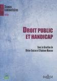 Olivier Guézou et Stéphane Manson - Droit public et handicap.