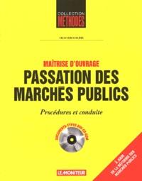 Rhonealpesinfo.fr Passation des marchés publics. Procédures et conduite, avec CD-ROM Image