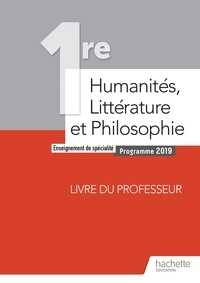 Olivier Himy et Jean-Philippe Taboulot - Humanités, Littérature et Philosophie 1re spécialité - Livre du professeur.