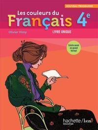 Les couleurs du francais 4e - Programme 2011, livre unique.pdf