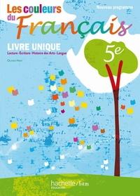 Histoiresdenlire.be Les couleurs du français 5e - Livre unique : lecture, écriture, histoire des arts, langue Image