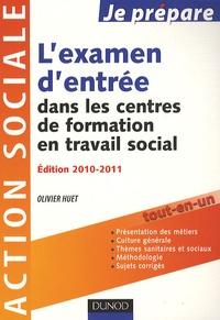 Olivier Huet - Je prépare l'examen d'entrée dans les centres de formation en travail social.
