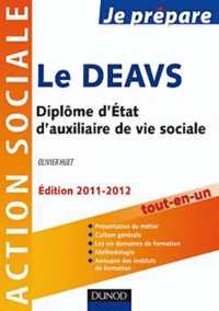 Olivier Huet - Le DEAVS - Diplôme d'Etat d'auxiliaire de vie sociale.