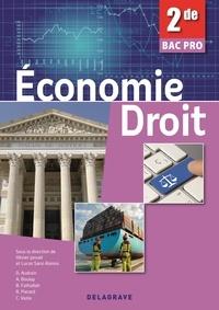 Olivier Januel et Lucas Sanz Ramos - Economie-Droit 2e Bac Pro.